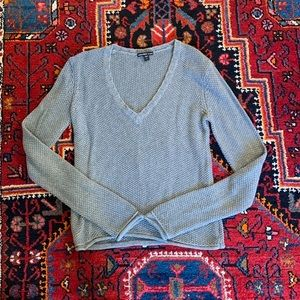 JAMES PERSE Grey Wool Blend Sweater